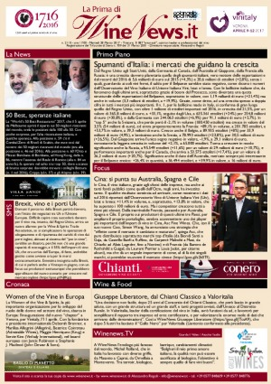 La Prima di WineNews - N. 2110