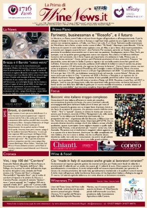 La Prima di WineNews - N. 2111