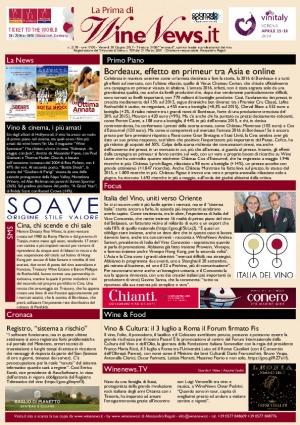 La Prima di WineNews - N. 2178