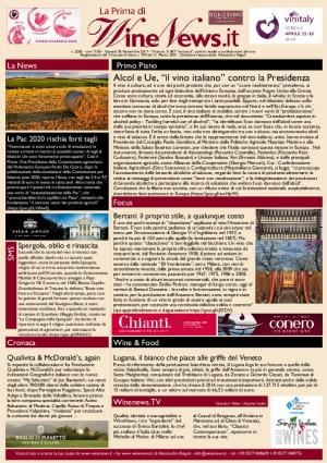 La Prima di WineNews - N. 2285