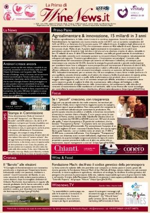La Prima di WineNews - N. 2323