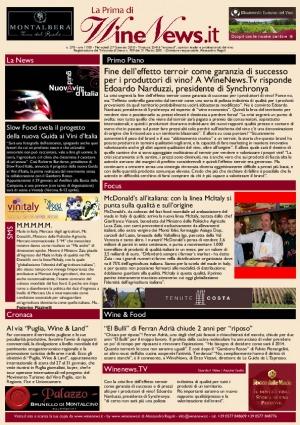 La Prima di WineNews - N. 270