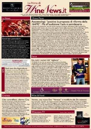 La Prima di WineNews - N. 290