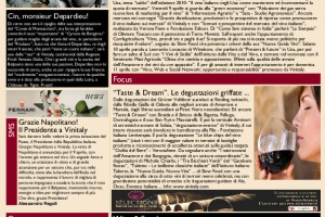La Prima di WineNews - N. 318