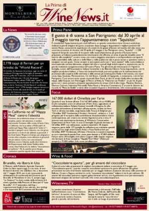La Prima di WineNews - N. 338