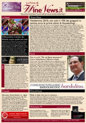 La Prima di WineNews - N. 424