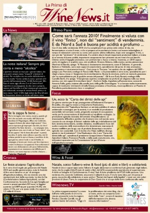 La Prima di WineNews - N. 487