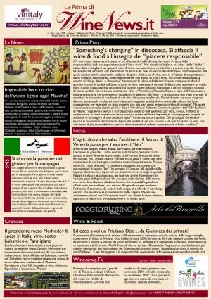 La Prima di WineNews - N. 550