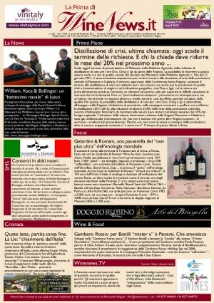 La Prima di WineNews - N. 552