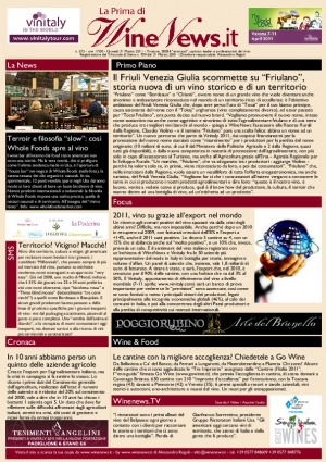 La Prima di WineNews - N. 575