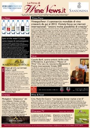 La Prima di WineNews - N. 57