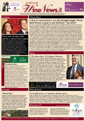 La Prima di WineNews - N. 595