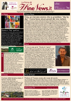 La Prima di WineNews - N. 597