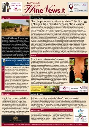 La Prima di WineNews - N. 788