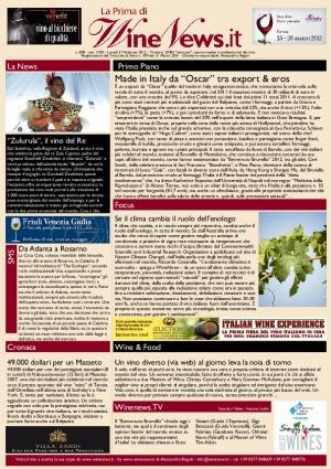 La Prima di WineNews - N. 808