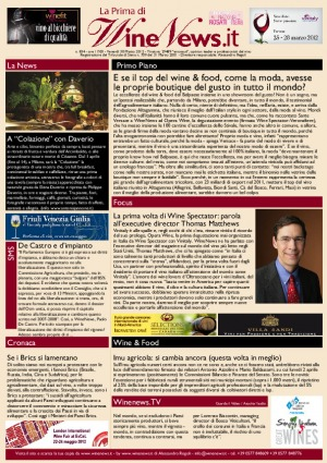 La Prima di WineNews - N. 834