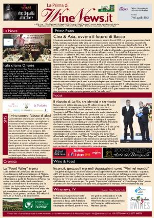 La Prima di WineNews - N. 874