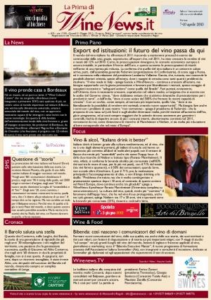 La Prima di WineNews - N. 875