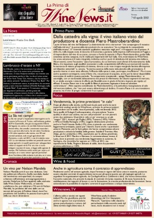 La Prima di WineNews - N. 918