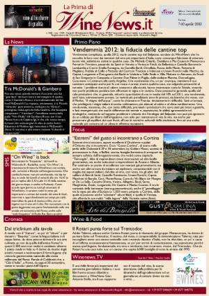 La Prima di WineNews - N. 960
