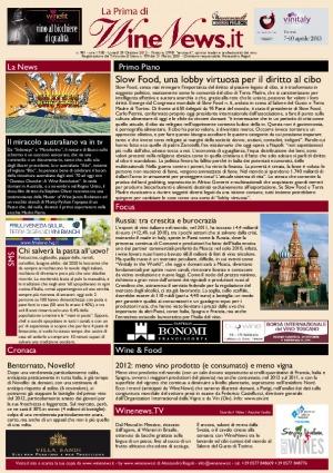La Prima di WineNews - N. 981