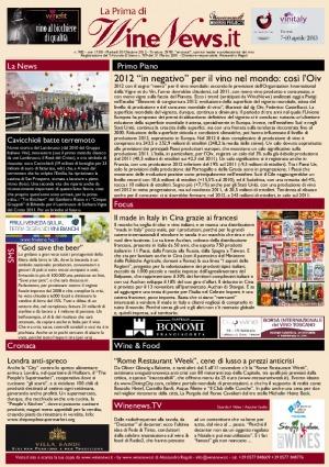 La Prima di WineNews - N. 982