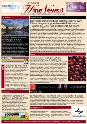 La Prima di WineNews - N. 99