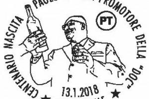 """Sono passati 100 anni dal 1918, anno di nascita di Paolo Desana, il senatore piemontese che ha dato vita alle Doc italiane, e il Belpaese lo celebra con un annullo filatelico e una """"chiacchierata"""" a Casale Monferrato per ricordare """"il Padre della Doc"""""""