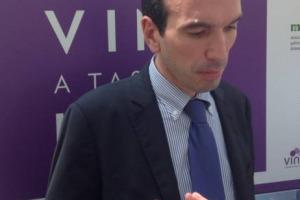 """Congresso Assoenologi - """"L'Italia è leader dell'agroalimentare a livello mondiale, può guidare il cambiamento su molti fronti. Ma ha bisogno di """"campioni"""", ed il vino sicuramente lo è"""": così il Ministro delle Politiche Agricole, Maurizio Martina"""