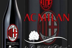 """L'Amarone si """"allena"""" con il Milan e fa goal in Cina: la griffe della Valpantena La Collina dei Ciliegi ha lanciato le sue etichette in co-branding col Milan, e ha visto le sue vendite nel Dragone impennarsi e arrivare a 70.000 bottiglie in 2 mesi"""