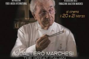 """Il 19 marzo Gualtiero Marchesi avrebbe compiuto 88 anni: in suo onore il 20 e 21 marzo sarà nelle sale italiane """"Gualtiero Marchesi - The Great Italian"""", documentario che ripercorre la vita di un cuoco ed un artista portatore di italianità nel mondo"""