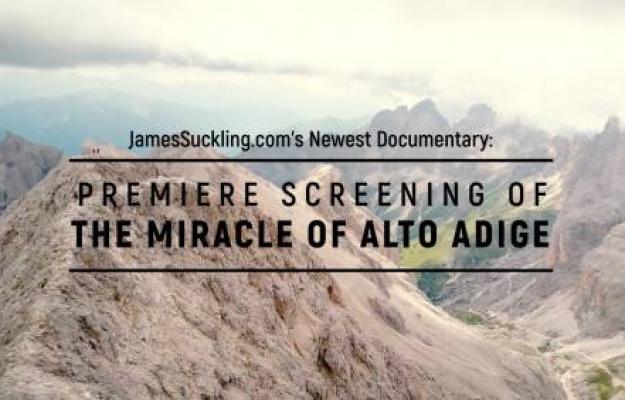 ALTO ADIGE, JAMES SUCKLING, News