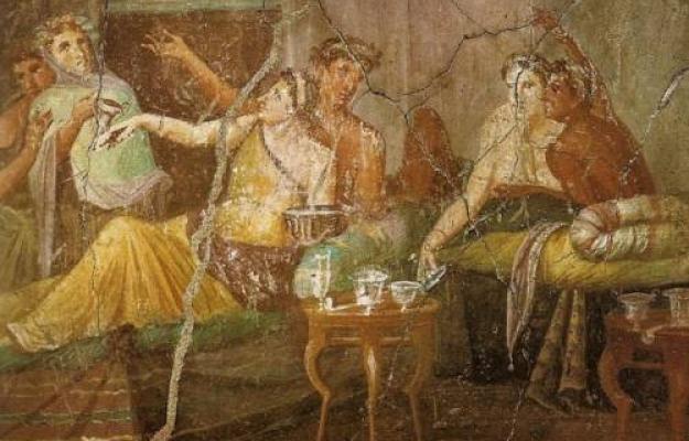 """A TAVOLA? I PIATTI DELL'ANTICA ROMA: DAL """"GARUM"""" AL """"LIBUM"""