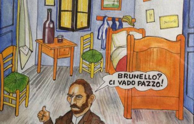 Metti Un Maestro Del Fumetto In Cantina Per Cantine Aperte Tra