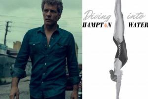 """La rockstar Jon Bon Jovi si aggiunge alla lista delle star-vignaiole: il suo vino? """"Diving into Hampton Water"""", un rosé, blend di Grenache, Cinsault e Mourvèdre, nato in collaborazione con il figlio Jesse ed il vip vigneron francese Gérard Bertrand"""
