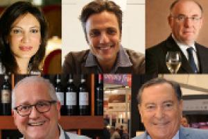 La Germania, mercato fondamentale del vino italiano, ma difficilissimo: le riflessioni, da ProWein, di Assunta de Cillis (Due Palme) Diego Cusumano (Cusumano), Enrico Zanoni (Cavit), Giuseppe Saitta (Saitta) e Francesco Sorrentino (Ges Sorrentino)
