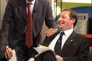 PIER DOMENICO GARRONE PRESIDENTE DELL'ENOTECA D'ITALIA, CHE HA L'OBIETTIVO DI RACCORDARE L'ATTIVITA' DI PROMOZIONE DEL SETTORE VITIVINICOLO