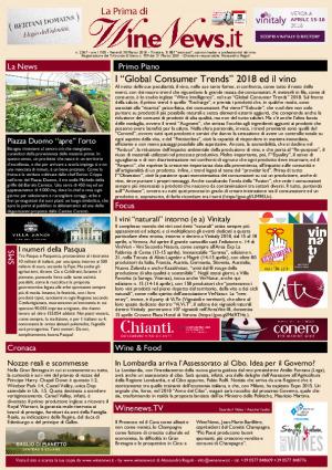La Prima di WineNews - N. 2367