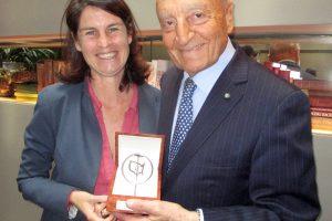 """Ad Alessia Antinori il """"GEI Friendship Award"""", premio agli italiani capaci di distinguersi in Usa"""