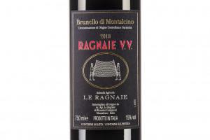 Le Ragnaie, Docg Brunello di Montalcino Vecchie Vigne 2013