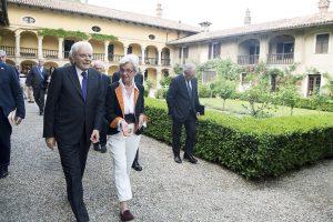 Tra i filari di Dogliani, Mattarella ricorda Luigi Einaudi, Presidente vignaiolo ed europeista