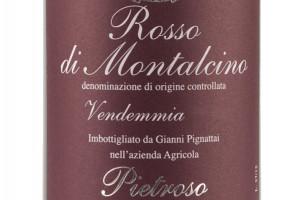 Pietroso, Doc Rosso di Montalcino 2016