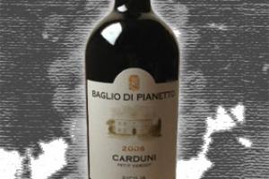 Baglio di Pianetto Sicilia Igp Petit Verdot Carduni