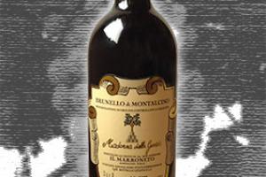 Il Marroneto Docg Brunello di Montalcino Madonna delle Grazie