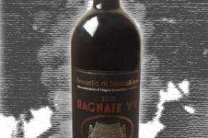 Le Ragnaie Docg Brunello di Montalcino Vecchie Vigne