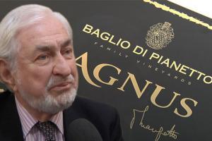 """Sempre un passo avanti, sempre contro corrente: nell'era dei millesimati e dei vitigni, il conte Paolo Marzotto, da Baglio di Pianetto, lancia Agnus. Semplicemente, """"vino rosso. L'uvaggio è """"segreto"""". Sulla qualità garantisco io"""""""