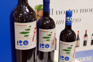 Vino e #calcio, grandi passioni italiane, si uniscono a #Vinitaly2018. Per celebrare i 120 anni della Figc, ecco il vino speciale realizzato a San Patrignano, e dai fratelli Riccardo e Renzo Cotarella, dal grande valore etico e simbolico
