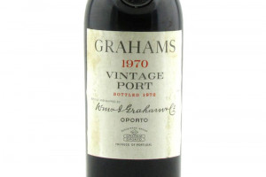 W. & J. Graham & C.°, Vintage Port 1970