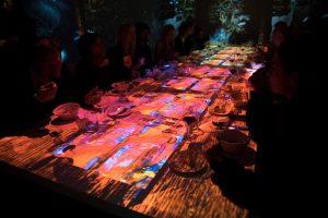 """""""Immersive Show Dinner"""", a Roma le cene multisensoriali tra piatti stellati, musica e arte"""