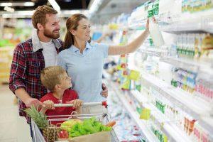 Istat, gli italiani nel 2017 hanno speso 457 euro al mese in spesa alimentare